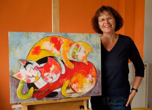Schilderijen Mieke van Hooft