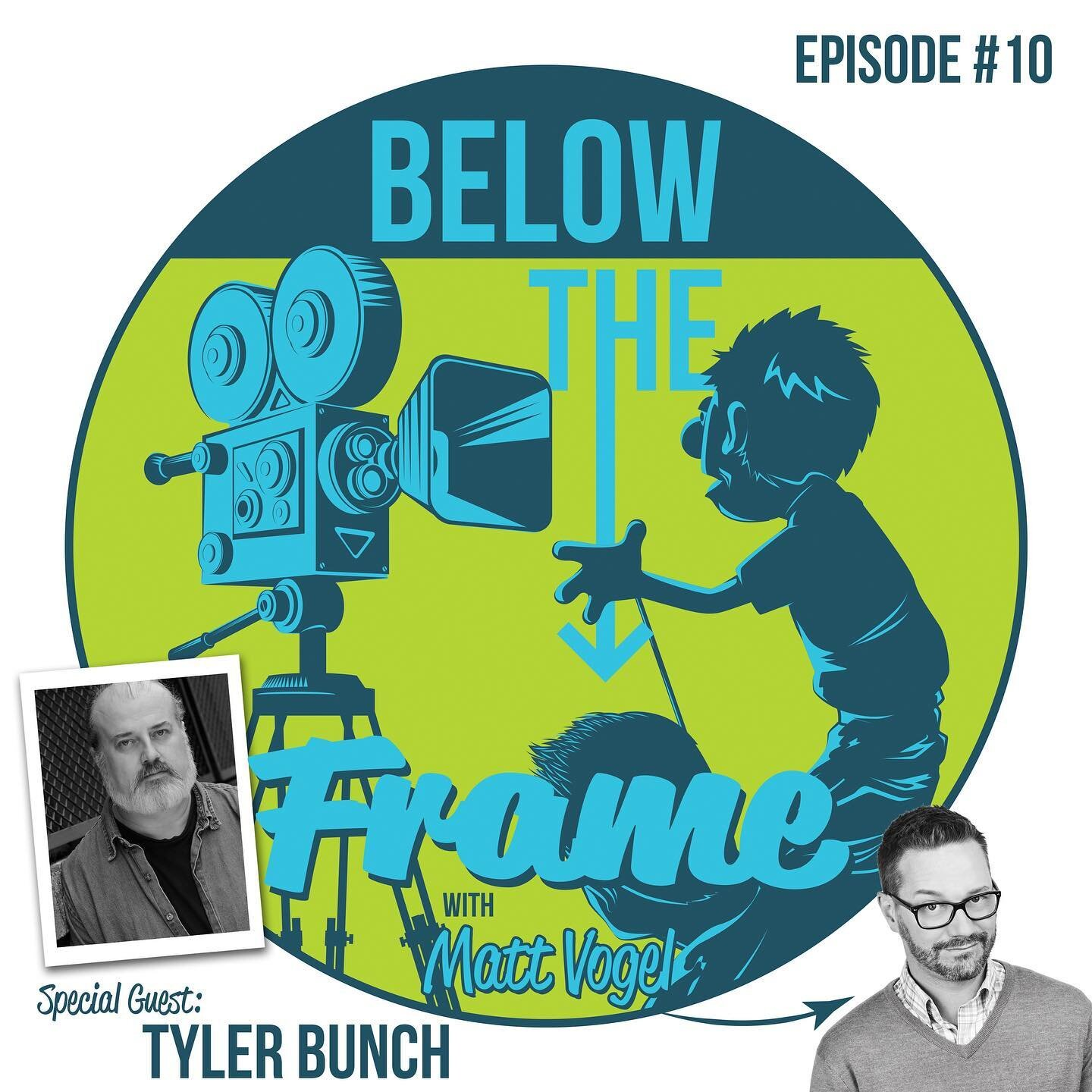 "On this episode of Below the Frame, I sit down with Sesame Street Muppet Performer Tyler Bunch (Louie) about growing up all over the country, performing puppets for The Disney Crew, monitor nights, and creating memorable characters.  We learn about the phrase ""Blue Skies"" and ask Sesame Street Performer Pam Arciero (Grundgetta) a question about NOT puppets. . . . @belowtheframe #muppetperformer #muppets #sesamestreet #podcasts #puppets #puppetry #puppeteer #dreamjob #mattvogel #tylerbunch #pamarciero #grundgetta #louie #elmosdad @tylerthebunch"