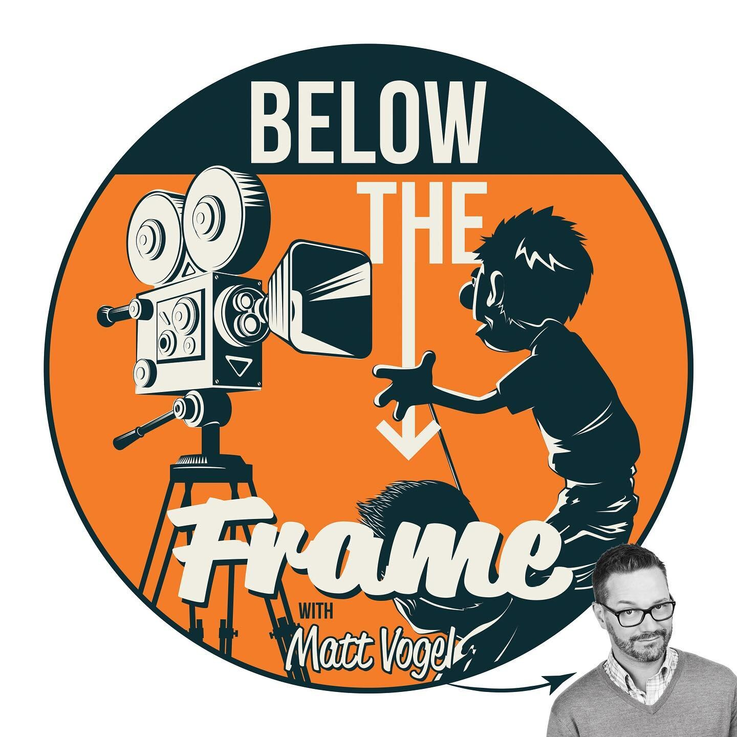Lots of great guests already and more to come on Below The Frame with Matt Vogel — wherever you get your podcasts. . #internationalpodcastday  @belowtheframe