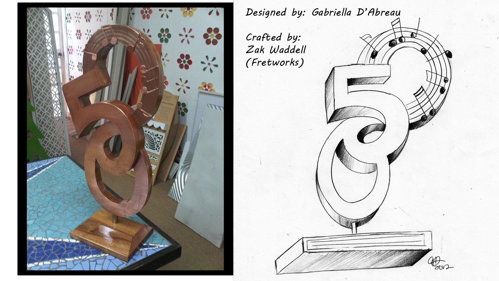 Design for Lord Brynner Trophy