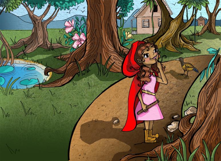 A Princess' Journey Sample Interior Page
