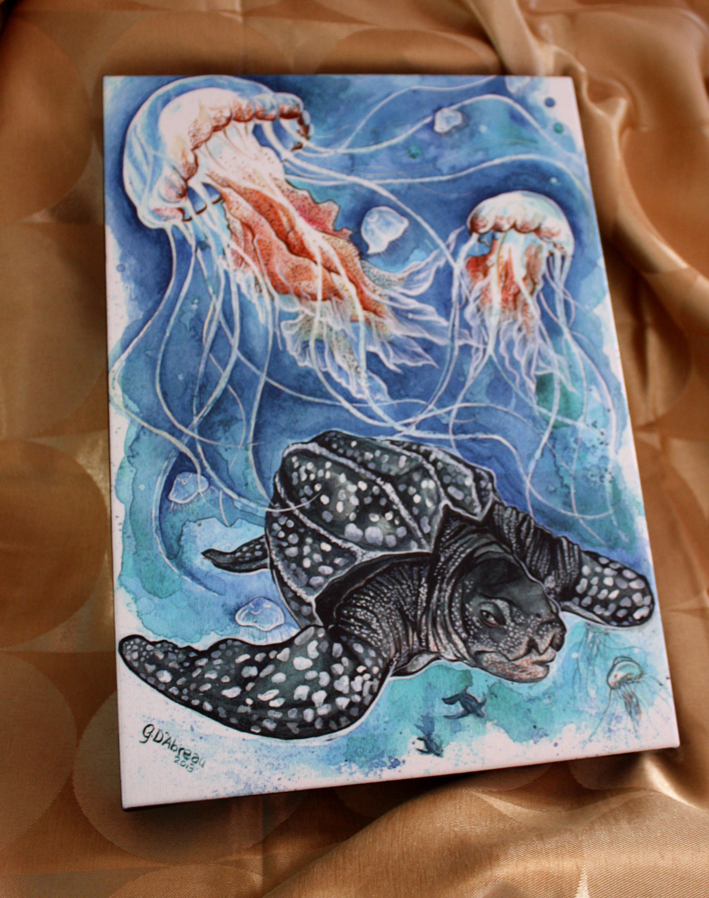 Queen of the Ocean  Giclée Print    8x11 inches