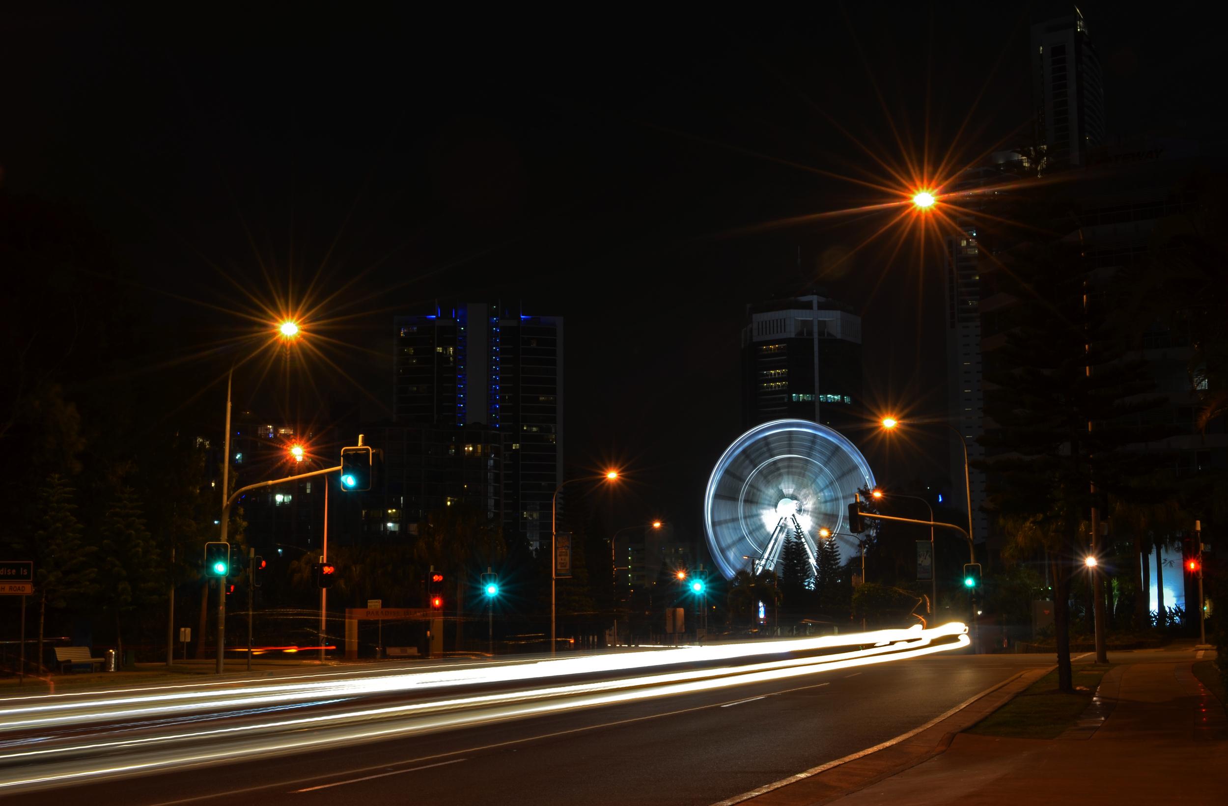 [15] The Ferris Wheel, Gold Coast.