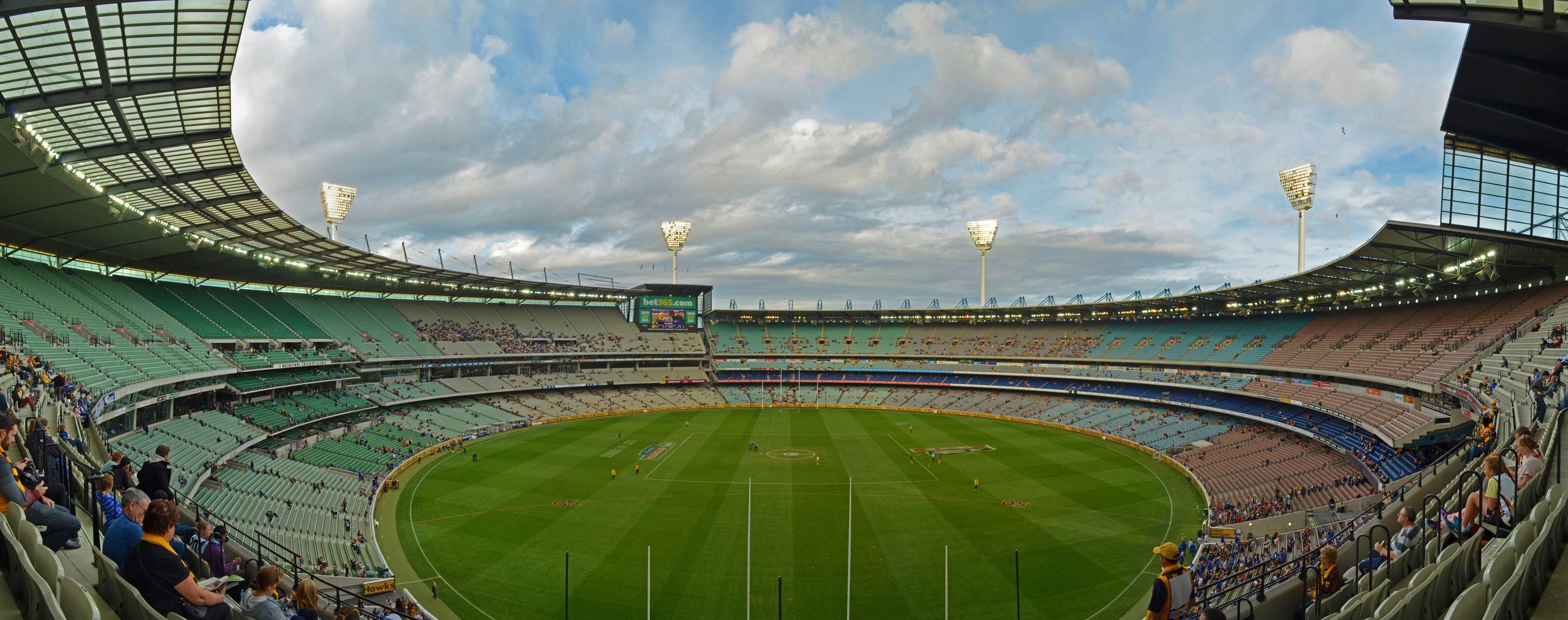 [28] MCG Stadium, Melbourne, Victoria.