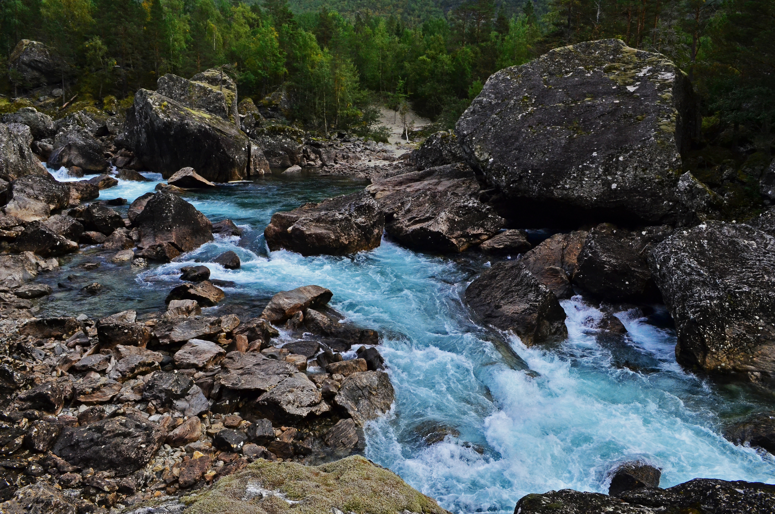 The Istra River, Norway.
