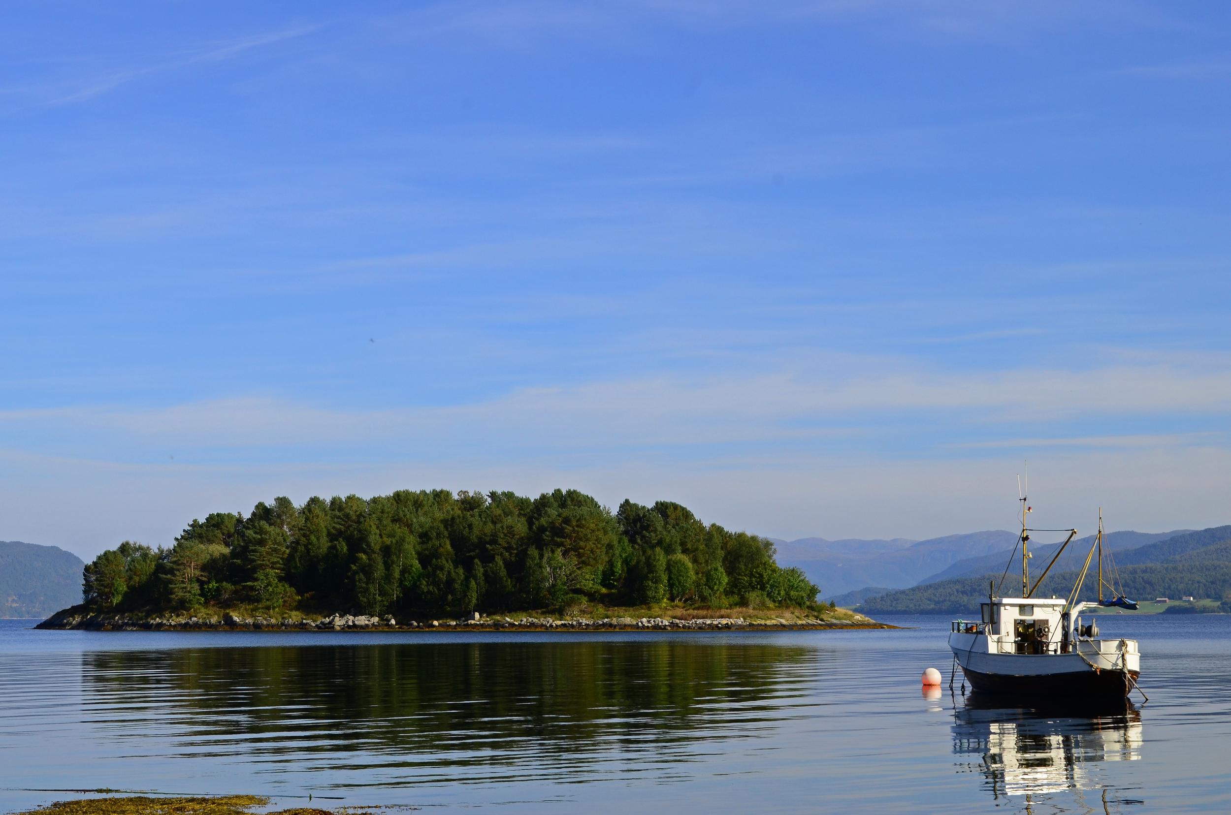 Taknes Bay, Norway.