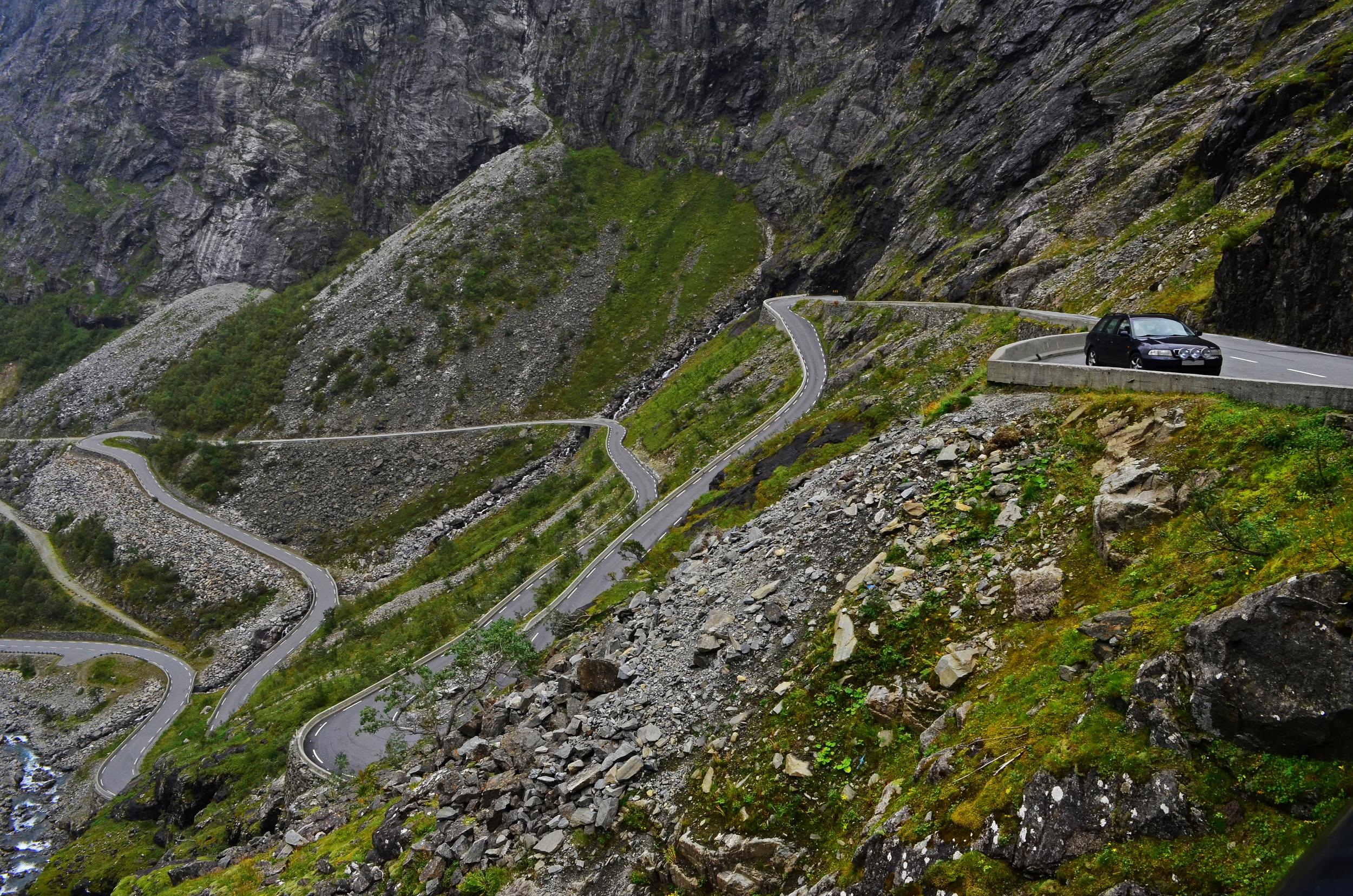 The Ascent, Trollstigen, Norway.
