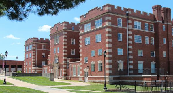 Lela Raney Wood Hall, Stephens College.