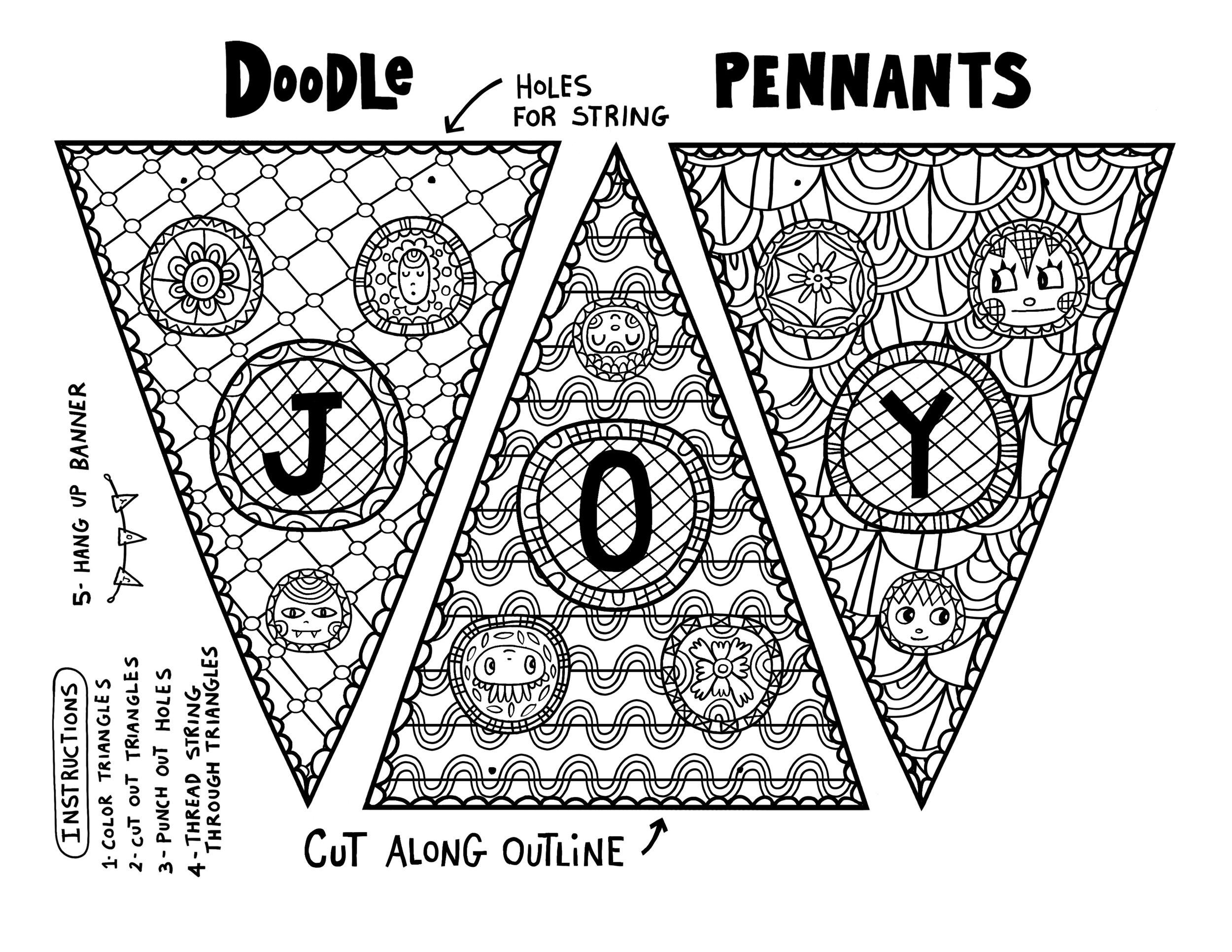 Pennants # 5-7