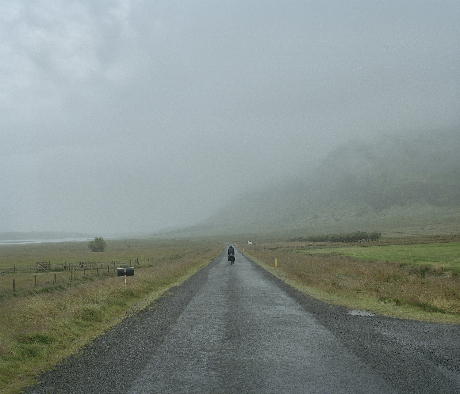 Rough weather and smooth tarmac