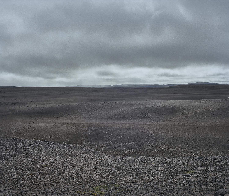 The desert, hundreds of kilometer's from anything