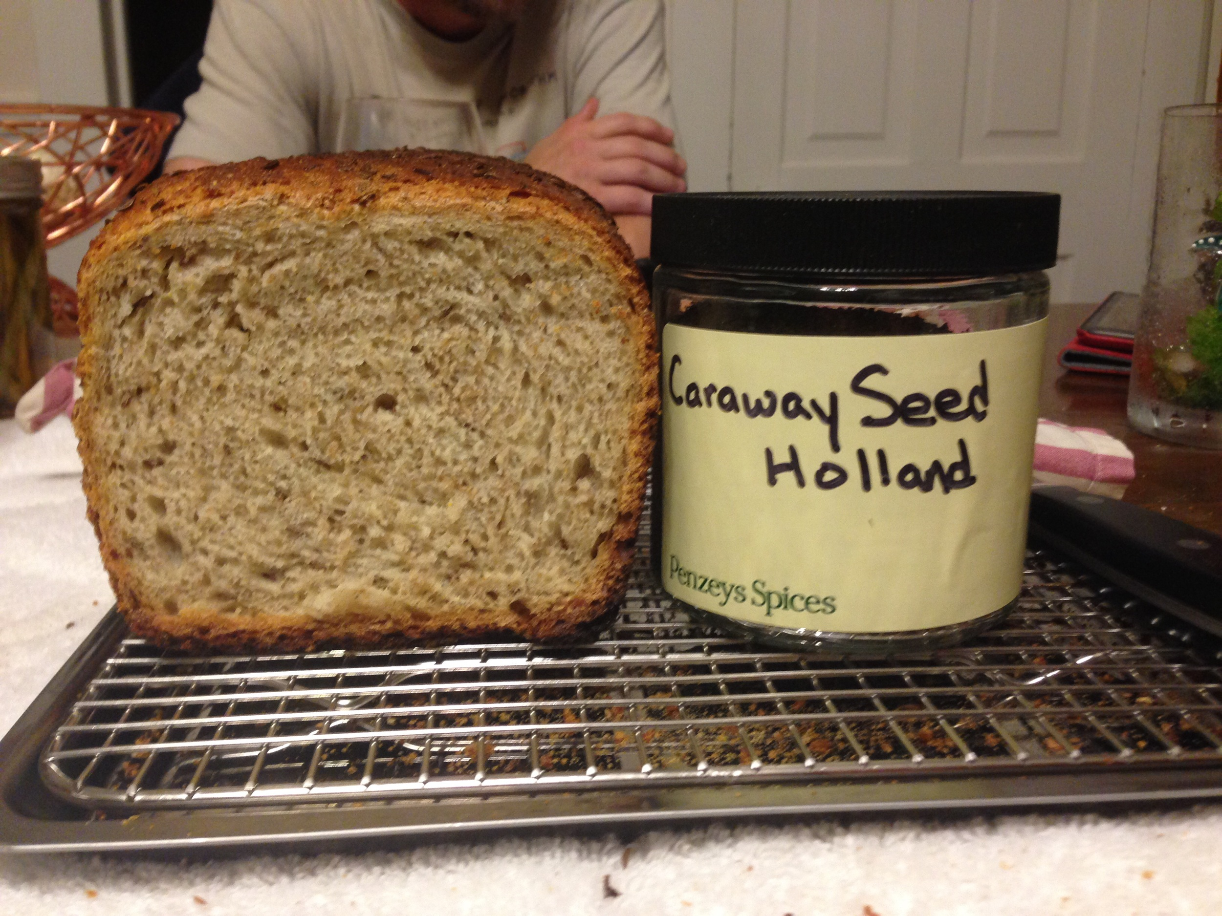 Aunt Jean & her daughter Jesse, shared their love of Penzeys spices. I have used their caraway seeds & lovely cinnamon to enhance my breads. Finding higher quality ingredients makes a better end product.