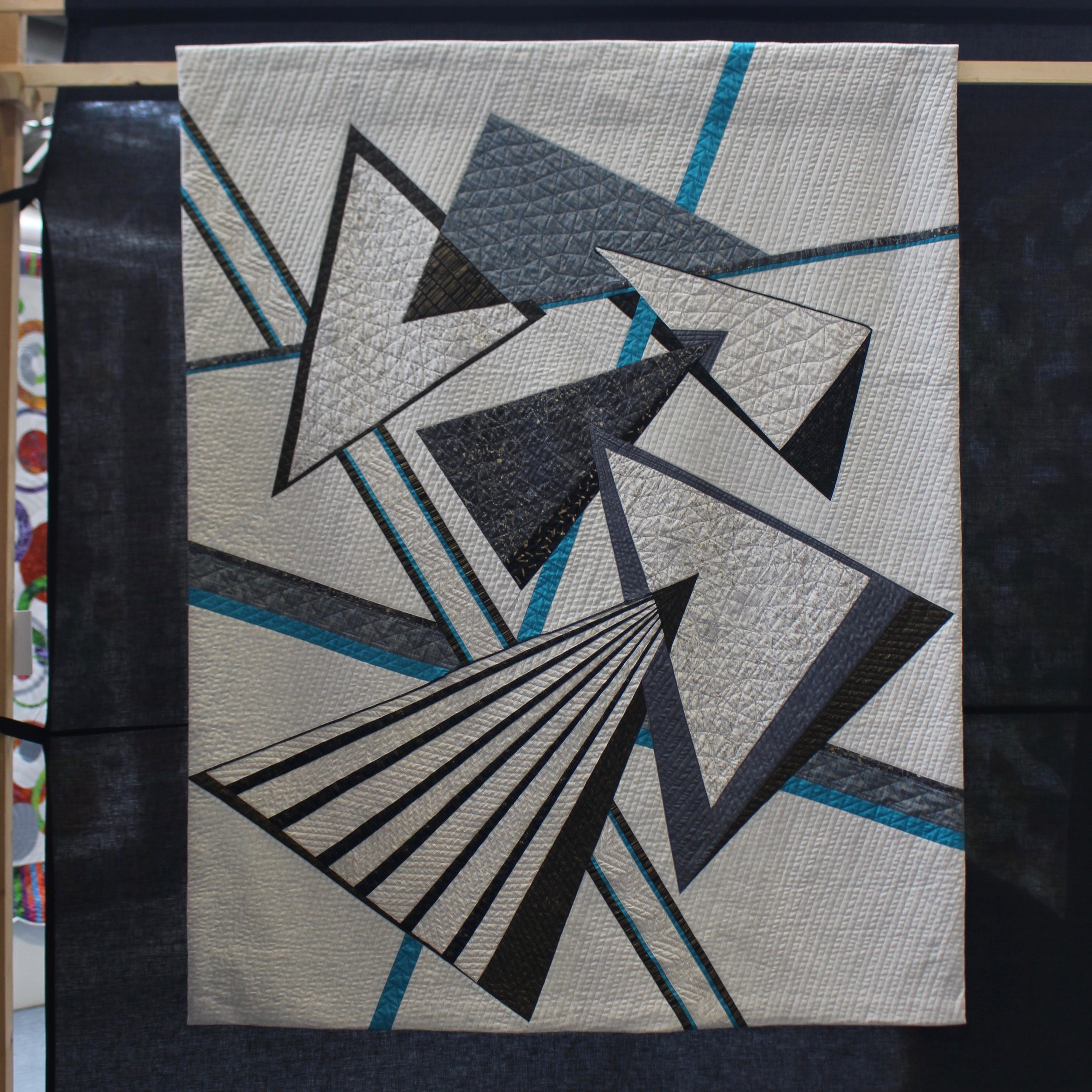 Geo by  Bev Mayo , Festival of Quilts 2019