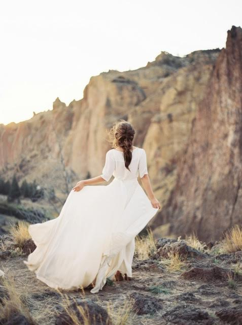 Wind Inspired Bride