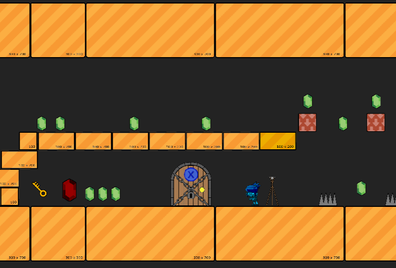 2D Platformer - [UE4.16]MechanicsDouble Jump (or more), Doors/Teleporters & Keys, Falling Blocks,Moving Platforms, 1 Way Platforms, Spikes,Collectables (with changeable values),Talking NPC's, Moving Enemies,Checkpoints, Ladders (bit clunky), Goal with end score.