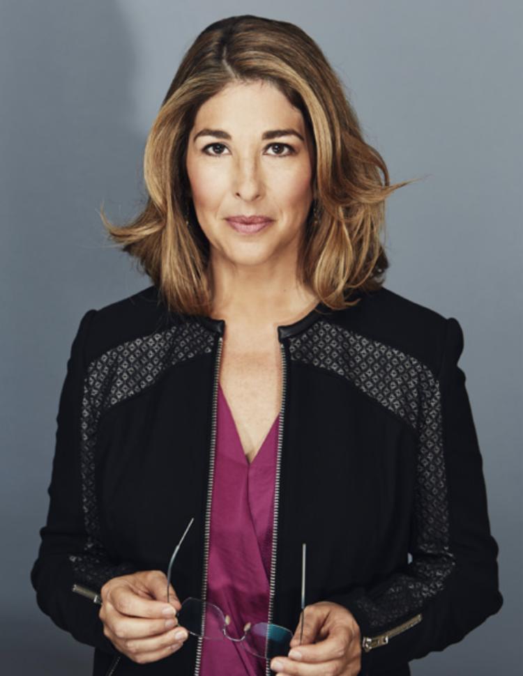 Naomi Klein   (photo by Kourosh Keshiri)
