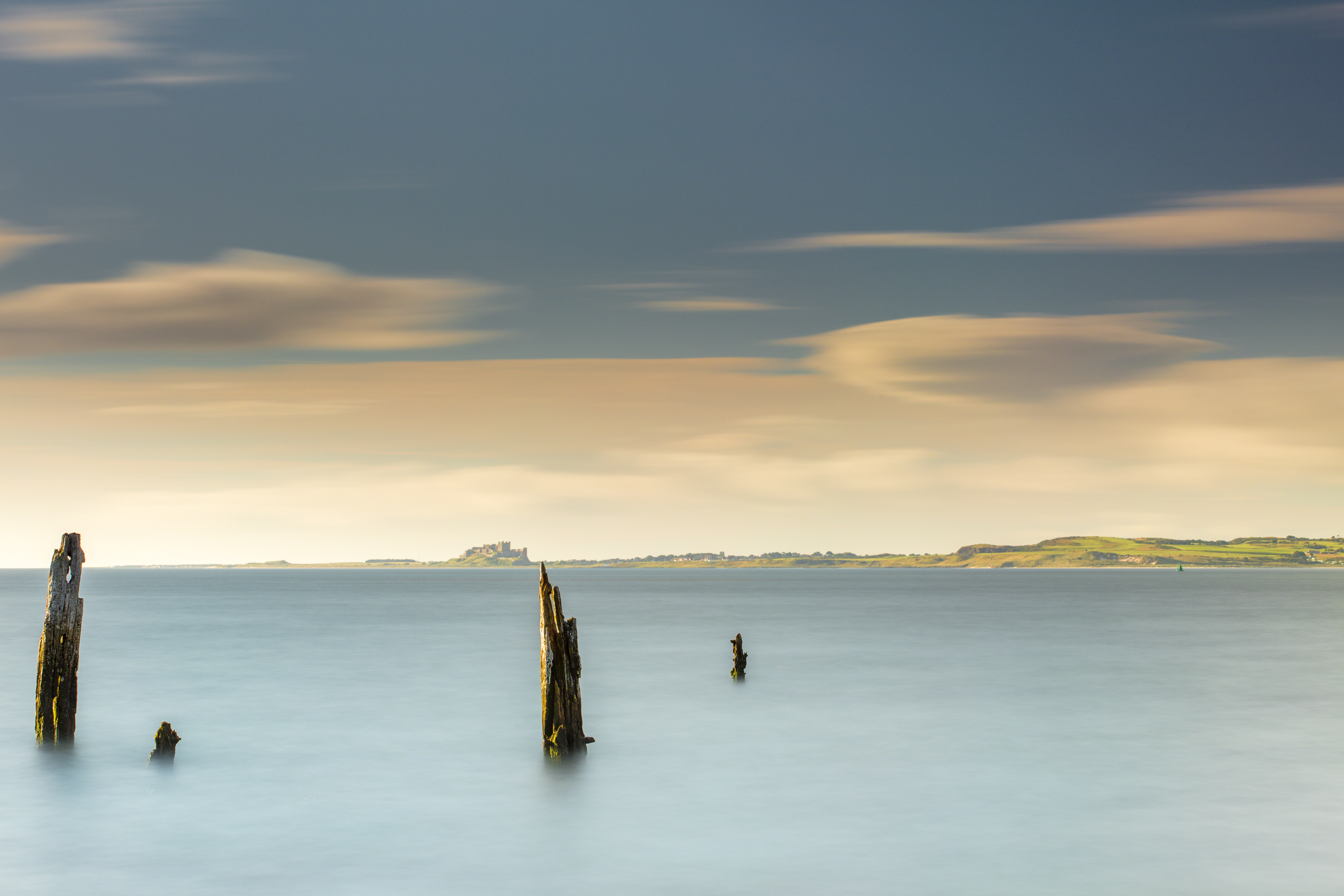 Wooden Jetty Remains - Holy Island 07:36 29th July 2017