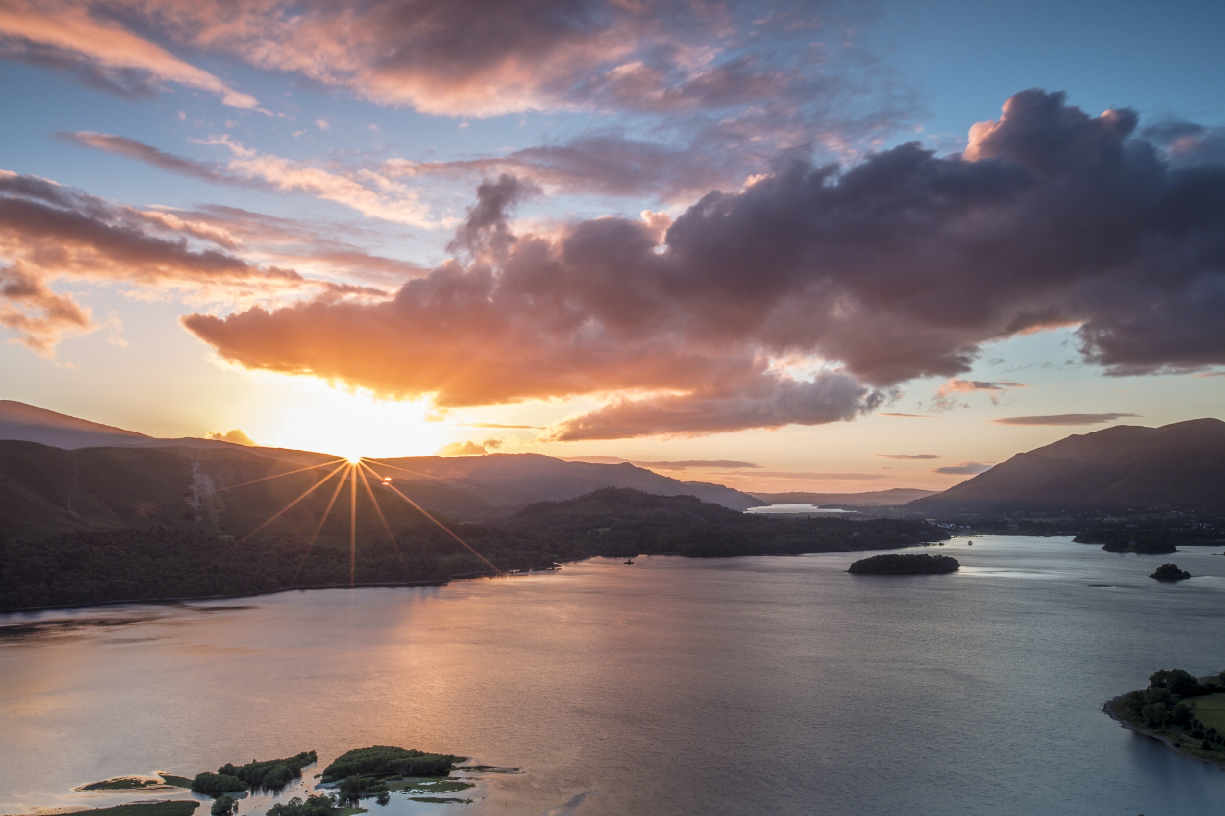 Sun setting from Surprise View over Derwent Water.jpg