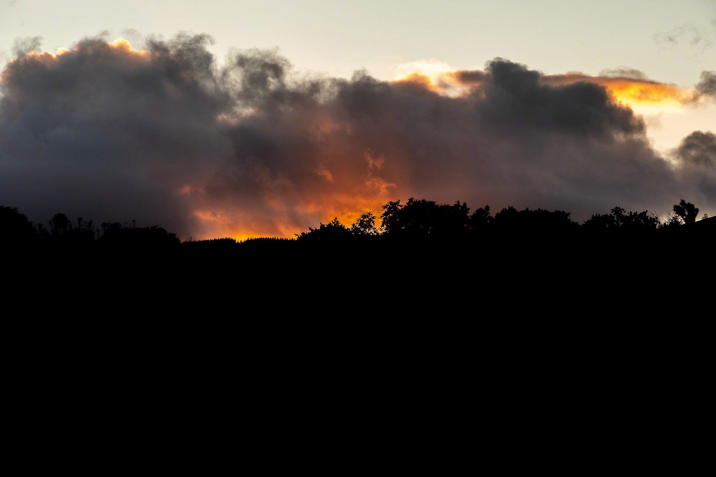 Townend Fire Sky