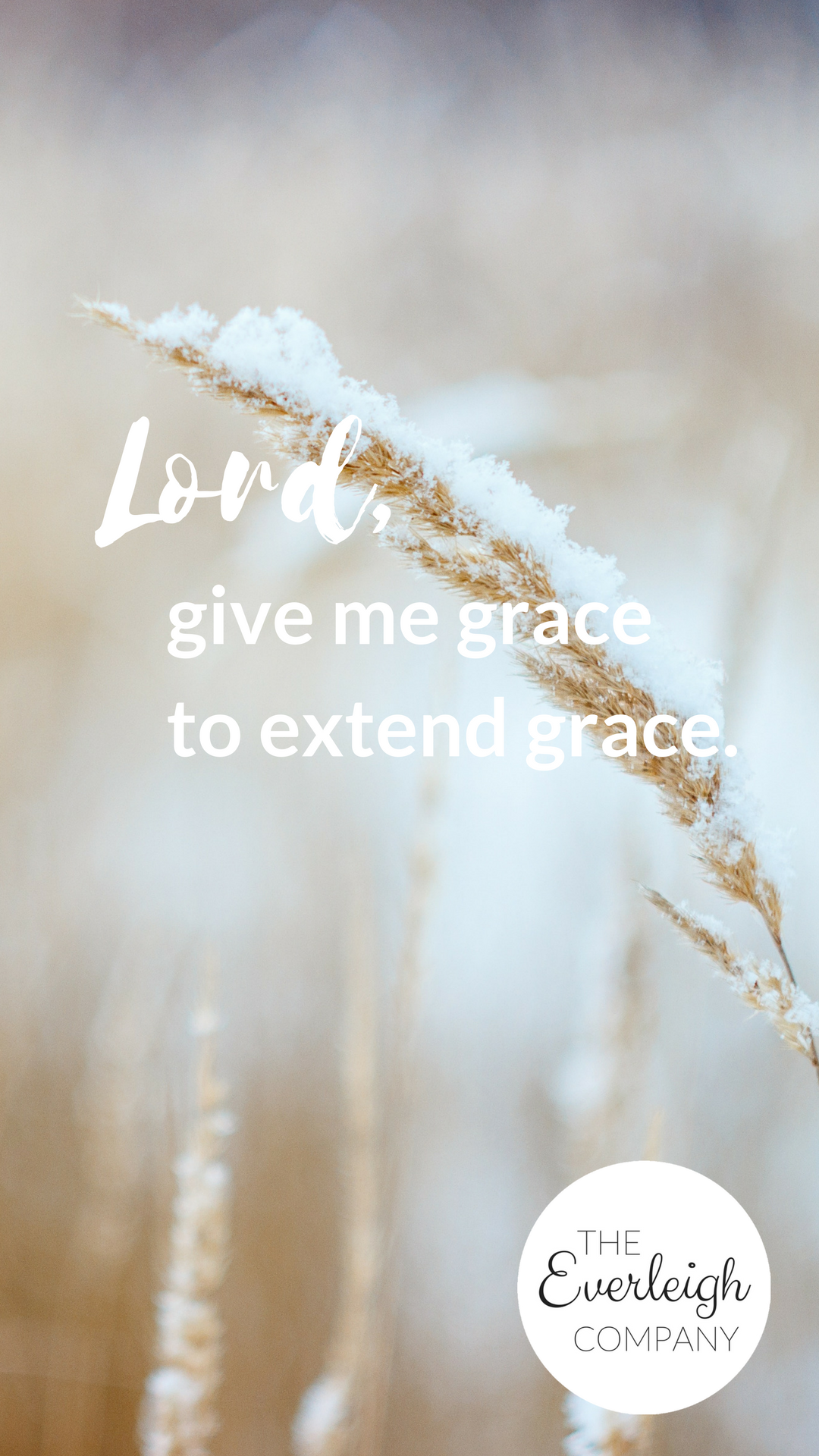 Everleigh Company iPhone Wallpaper Grace to Extend Grace