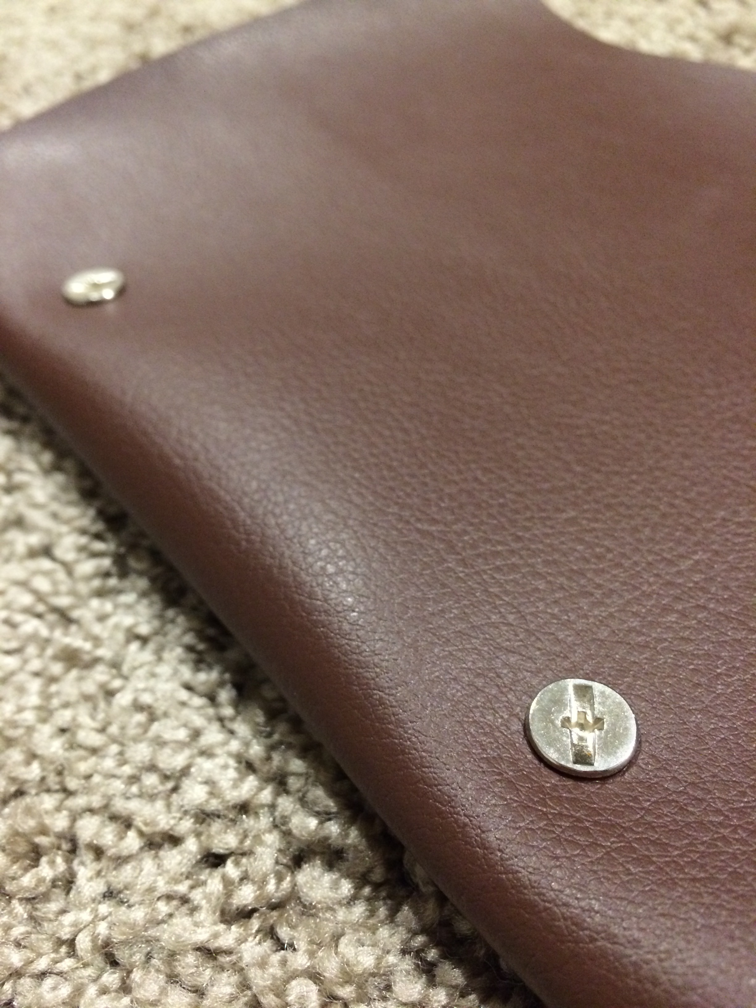Recycled Leather Journals by Everleigh Company