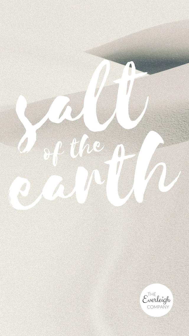 Bible verse salt of the earth iphone wallpaper.png
