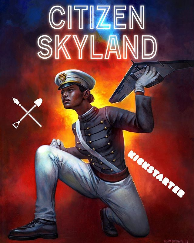 We have officially launched our Kickstarter to bring our second volume of the Cupid Universe to life — Citizen Skyland! If you want to be part of the next great graphic novel and decide on crucial story arcs you have to check out our Kickstarter campaign to support a graphic novel about a brilliant West Point cadet and the 🌎's foremost drone operator! The link is in our profile! #lillyskyland #NYC #newyorkcity #comic #comicbook #hero #vigilante #UAV #army #soldier #antihero #kickstarter #weapon #citizenskyland #cupid #bestseller #graphic #graphicnovel #trending