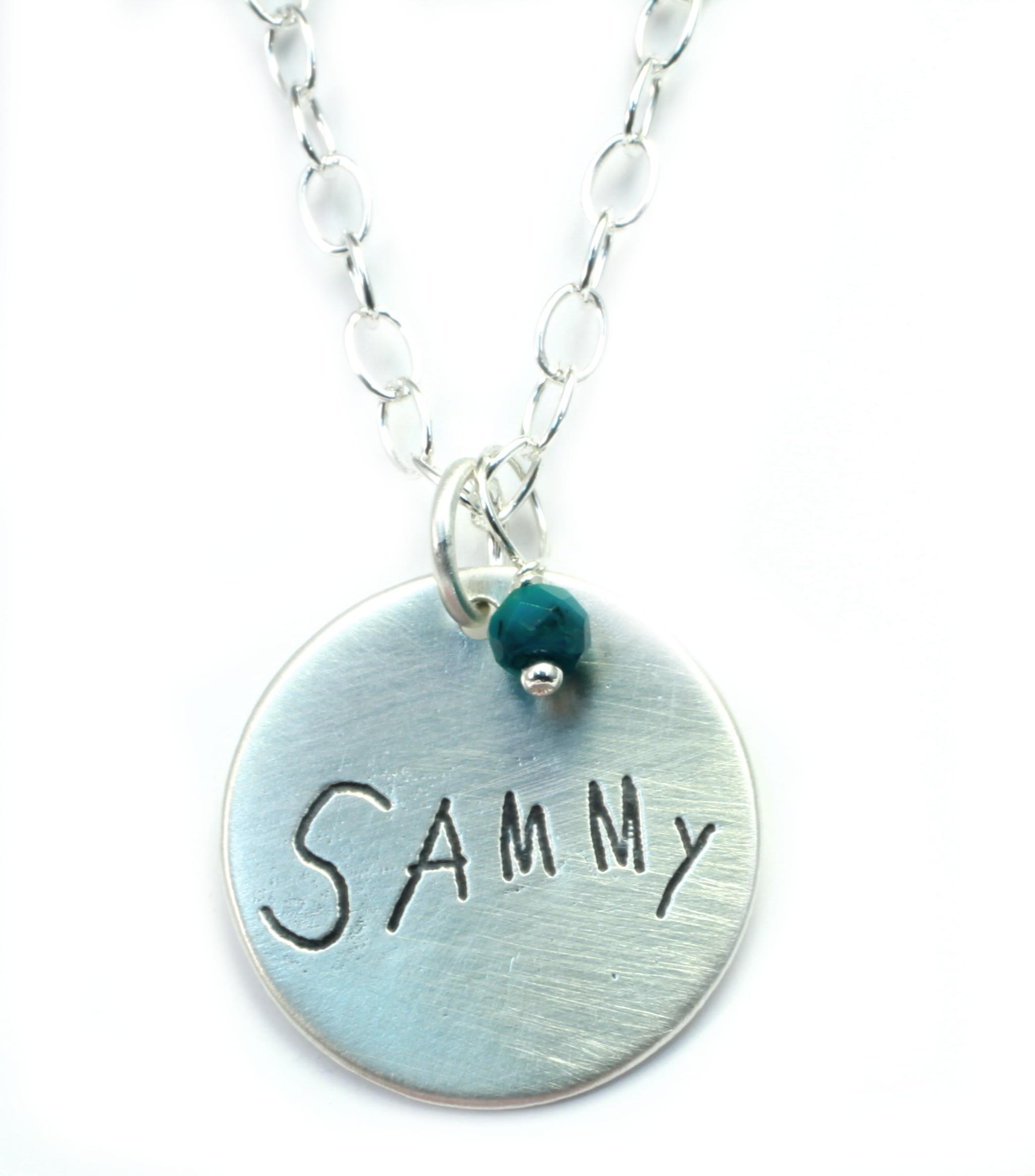 Sammy: Handwriting Charm