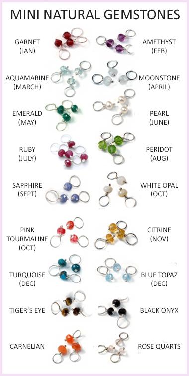 Mini Gemstones: JennyWear Jewelry