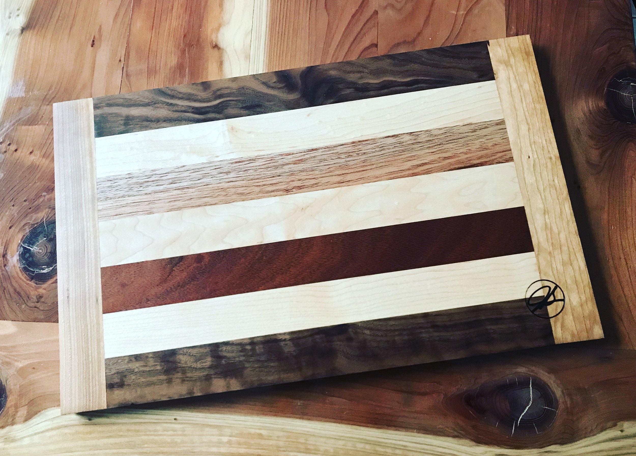 JS™ Exotic Hardwood Cutting Board