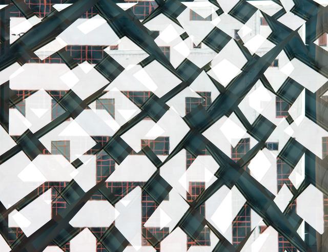 Adam Moskowitz  Counter-form Inorganic (Seattle) II , 2014 Archival pigment print 30 x 38 inches
