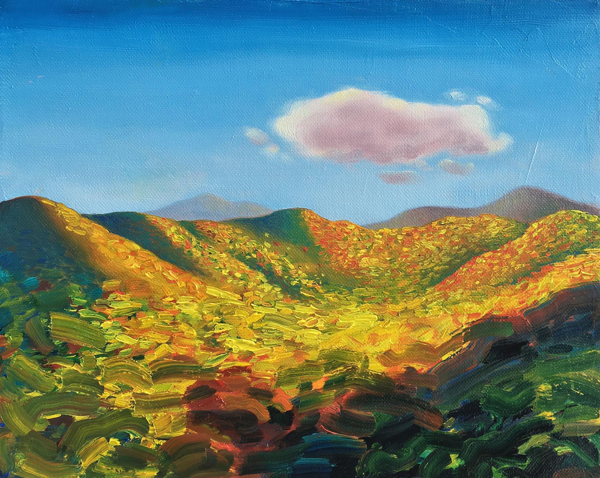 Plein Air Falling Apart , 2016 Oil on canvas 8 x 10 inches ELSW-0025 $2,500