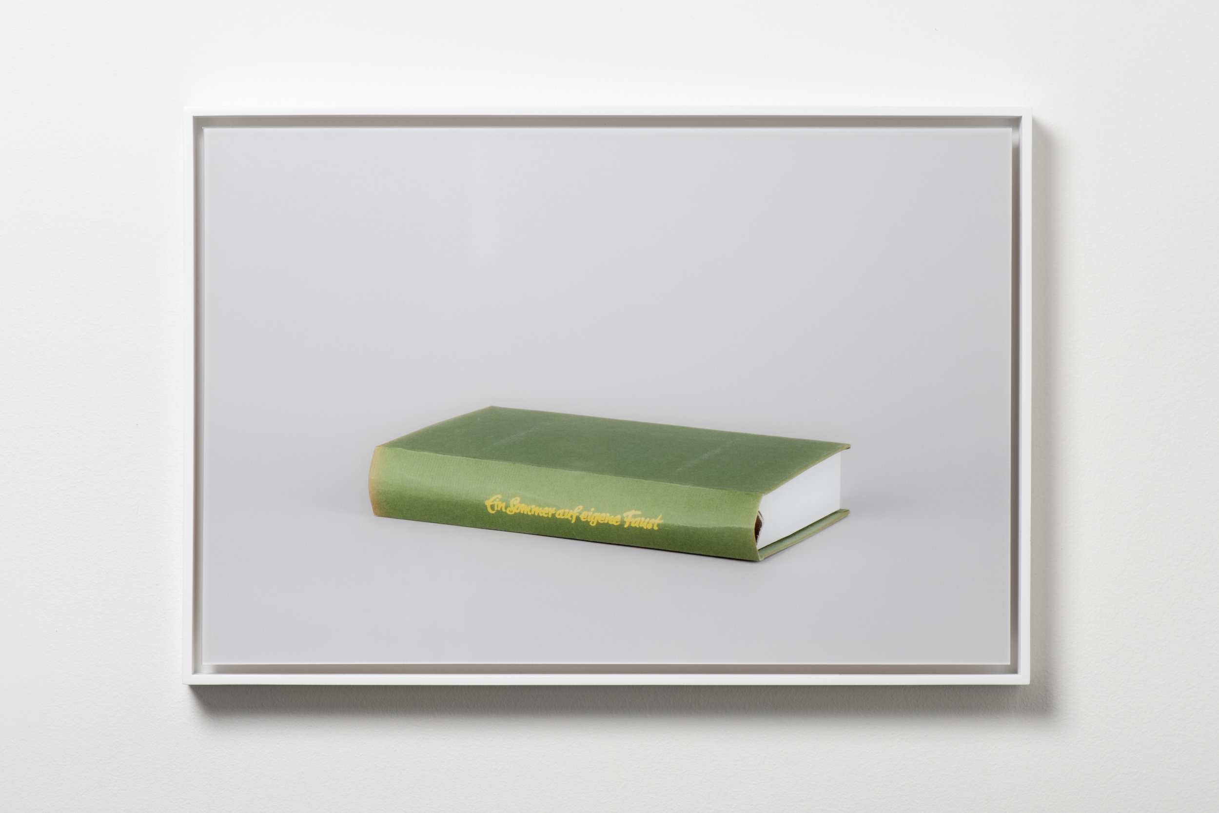 The Summer of My Own Fist (Ein Sommer auf eigene Faust) , 2017 Framed chromogenic print 13 3/16 x 19 7/8 inches Edition of 5 + 2 APs KISC-0007 $2,400