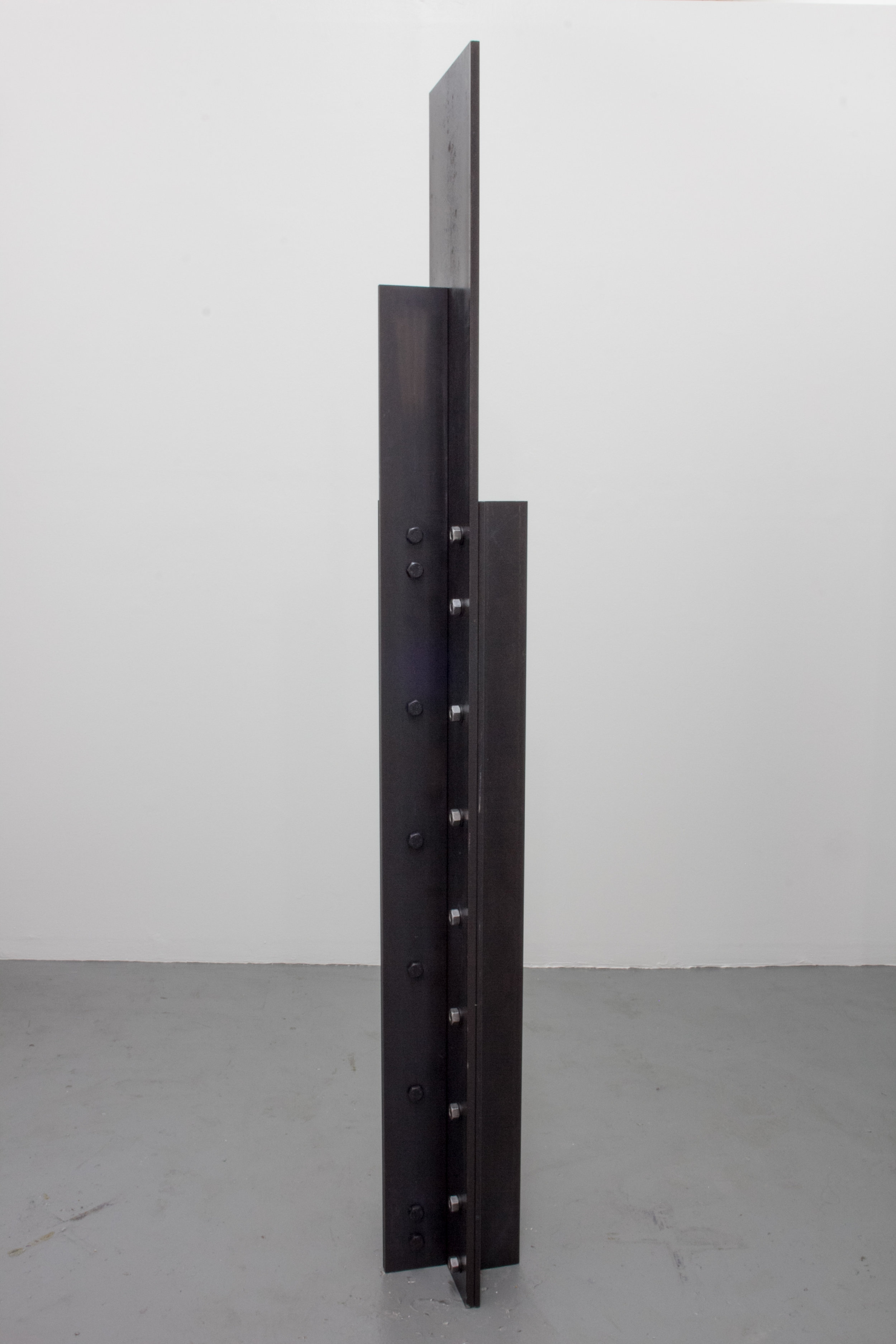 Like That Feeling When You Wake Up In The Morning , 2015 Steel, hardware 72 x 12 x 12 inches