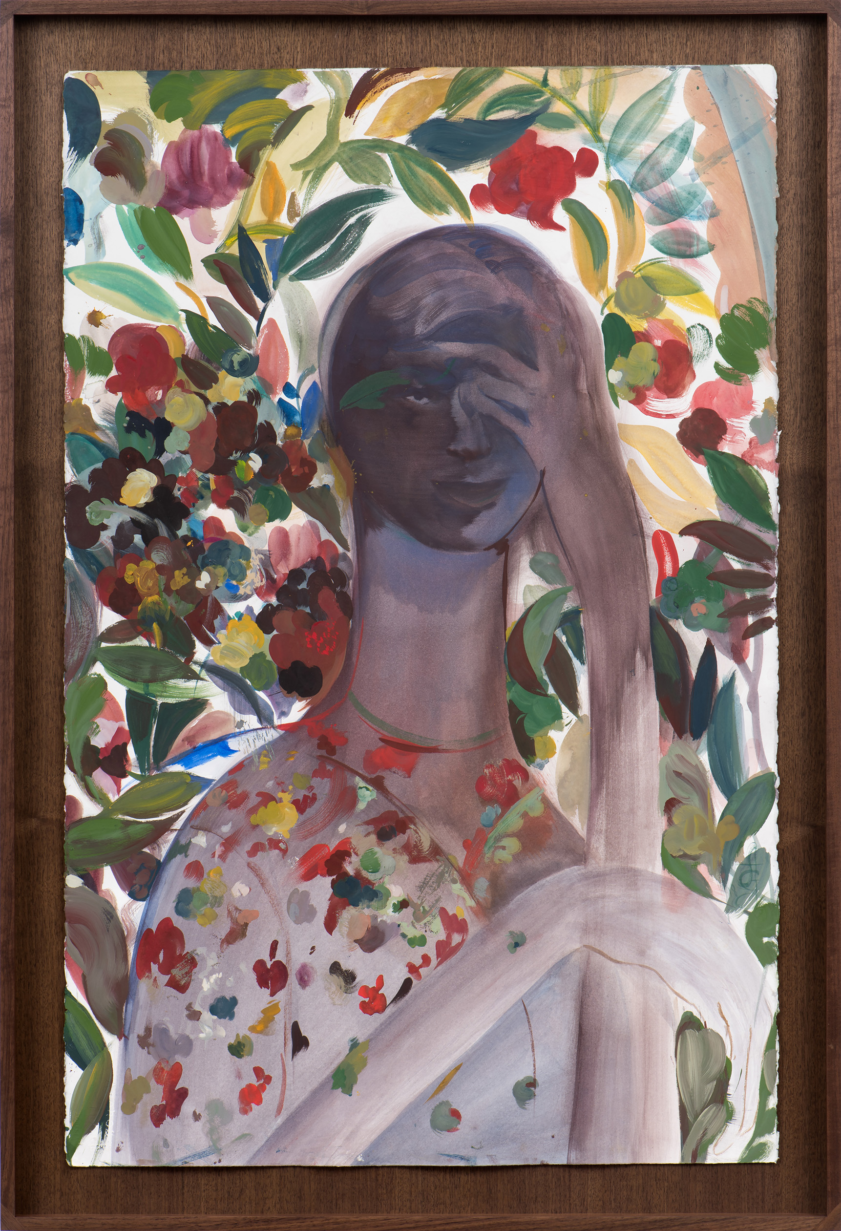 Alexa Guariglia  Adonais , 2018 Oil on canvas 28 x 22 inches ELSW-0030 $6,500