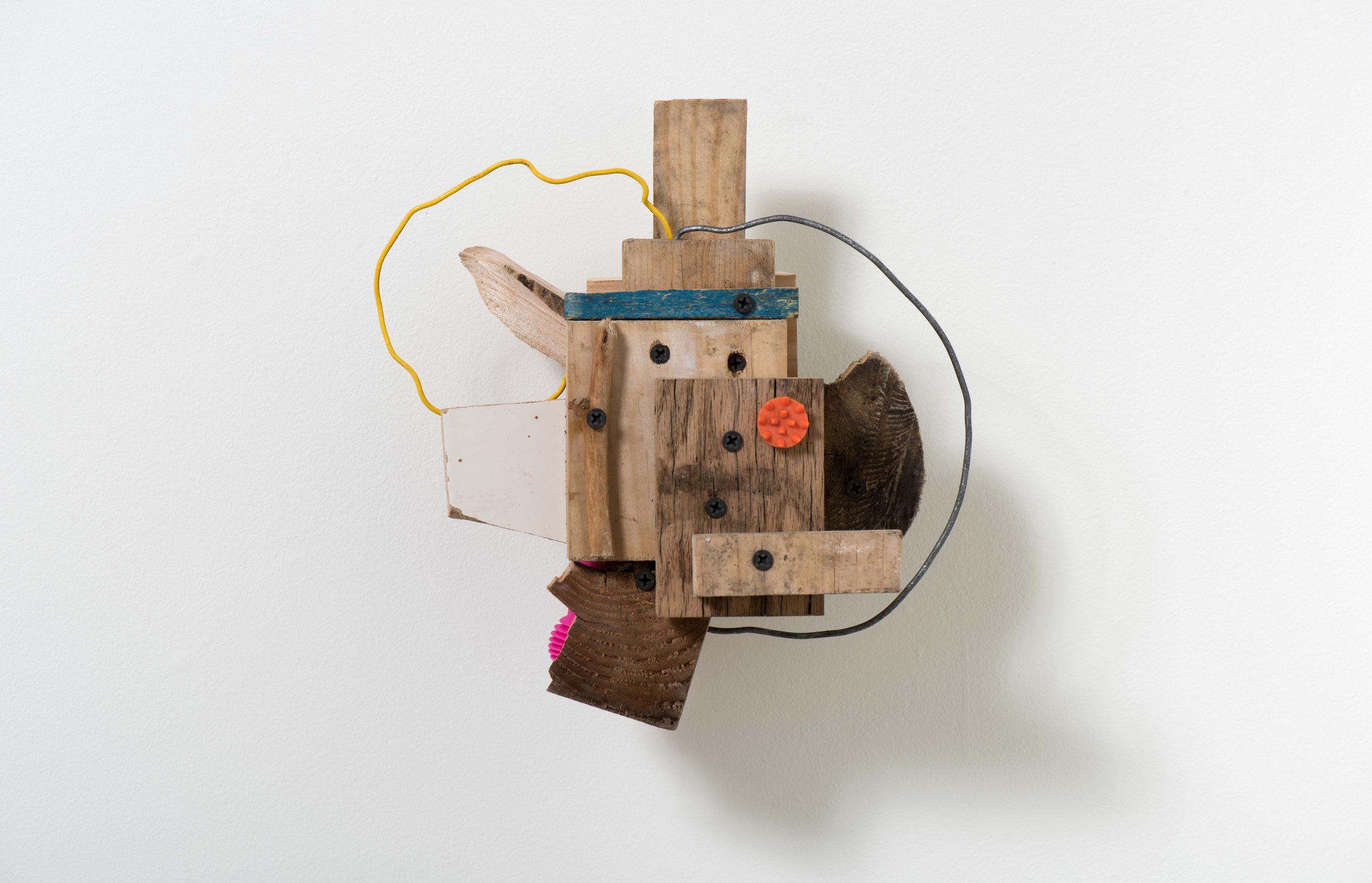 Ian L.C. Swordy  Everyday Eternal , 2019 Found objects, hardware 9 x 10 x 6 1/2 inches
