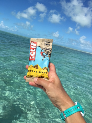 Thank you CLIF Bar for saving me from bonking 10 miles off-shore