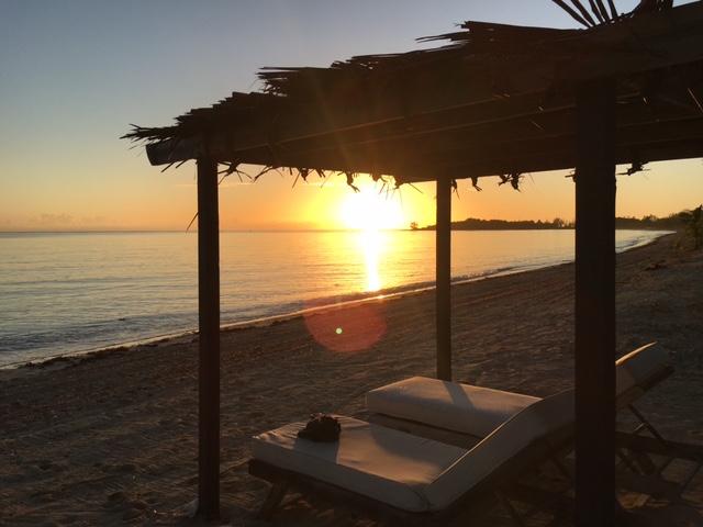 Sunrise at Kamalame Cay