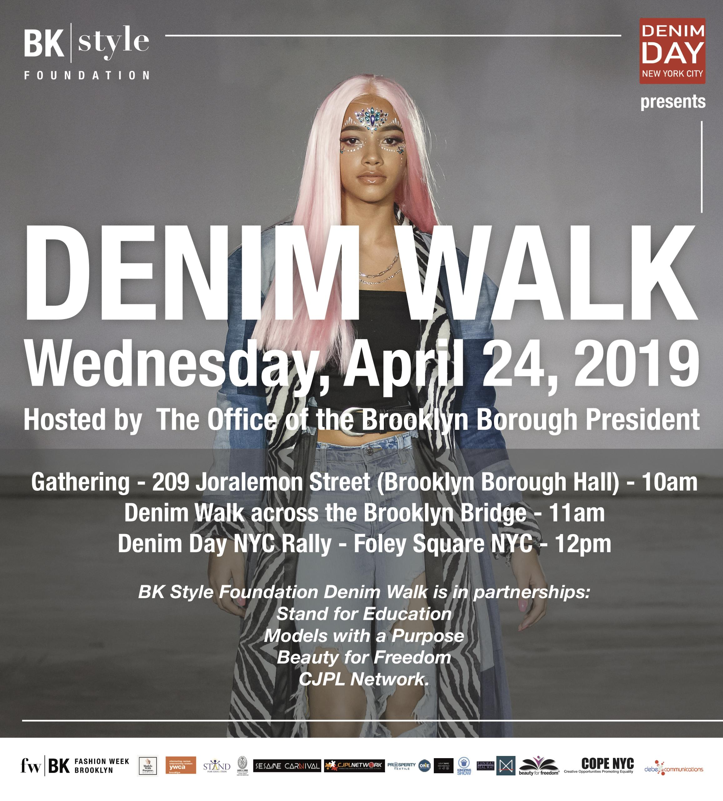Denim Walk 2019 — Denim Day NYC Coalition to End Sexual Violence
