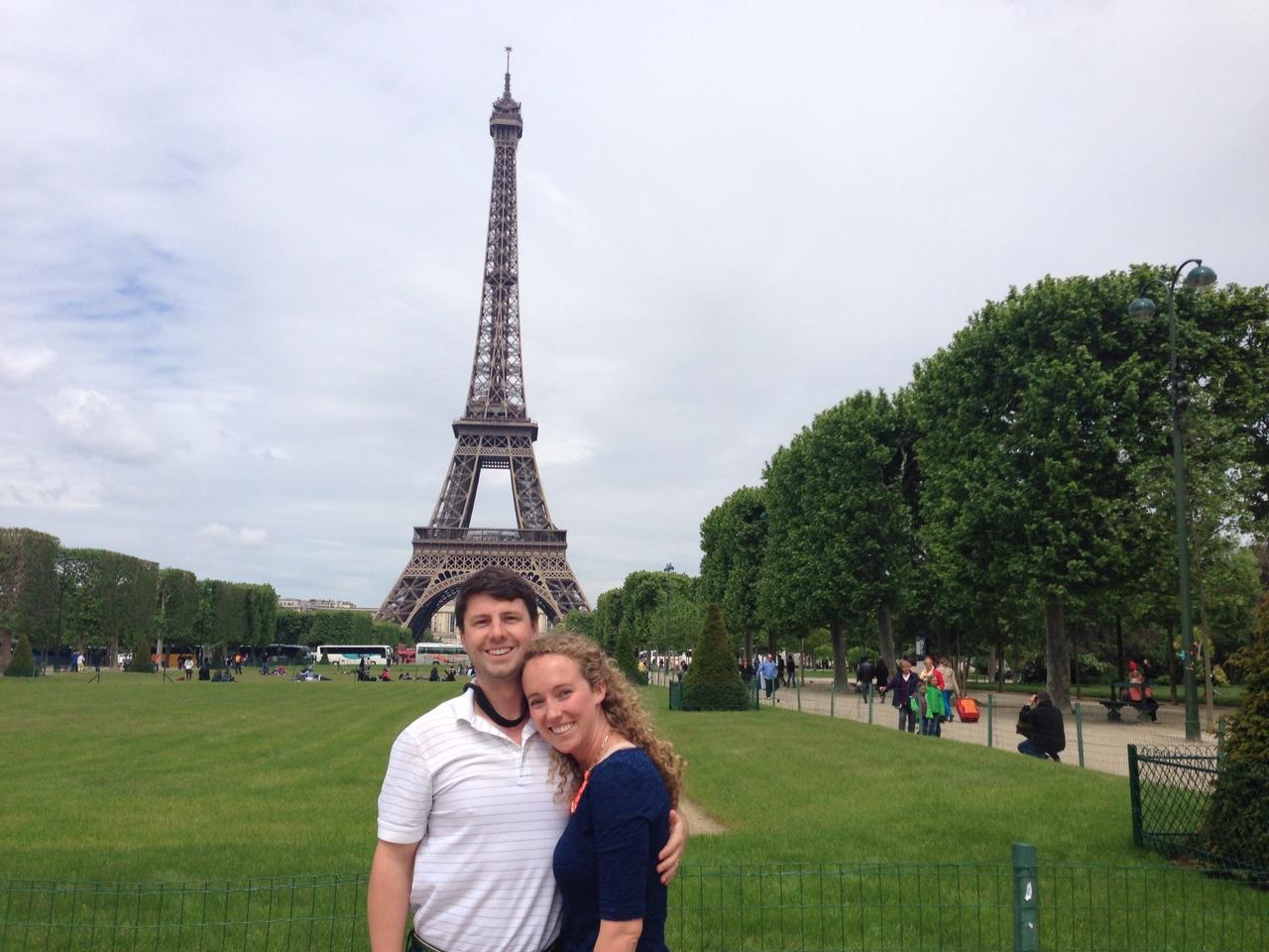 Honeymoon, Paris, France