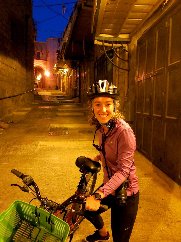Bike Tour, Jerusalem, Old City, Israel