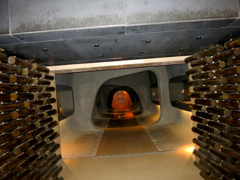 The vault entrance.