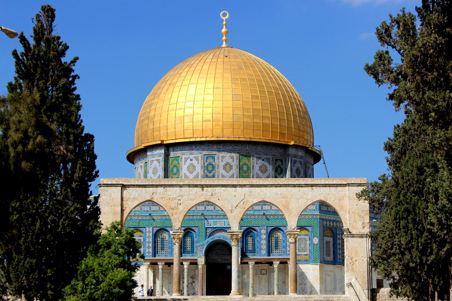 Mosque, The Dome of the Rock, Old City, Holy, Jerusalem, Israel