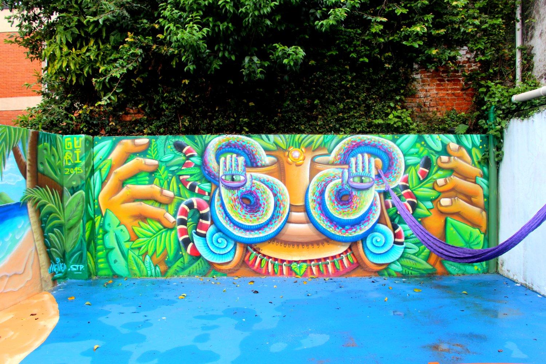 The fabulous artwork at Sampa!