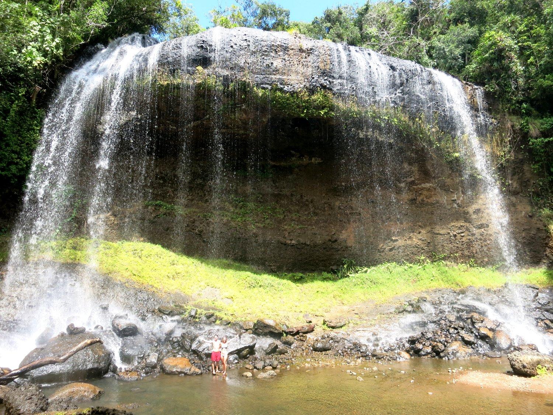 Palau waterfall