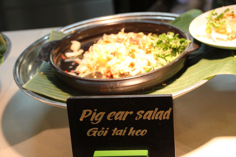 Pig Ear Salad