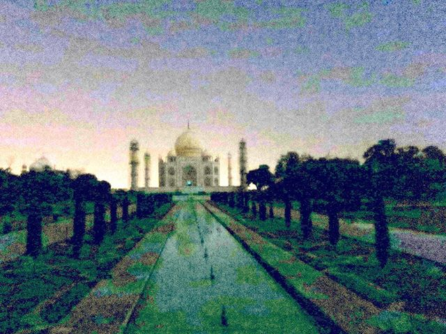 This is the Taj Mahal by night- the site was empty, cool and silent in contrast to the daytime chaos. #lovely #tajmahal #india #agra #travel #travelblog #rtwchat #rtwtravel #planetwanderlust #wanderlust #worlderlust #travelgram #instatravel #coupletravel #letsgoeverywhere #igtravel #neverstopexploring #instago #passportready #huffpostgram #voyage #theeverygirltravels #yeshuffpost