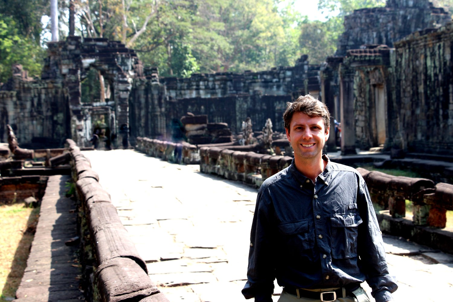 Indiana Jones of Angkor