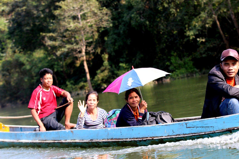 Laos River Picnic