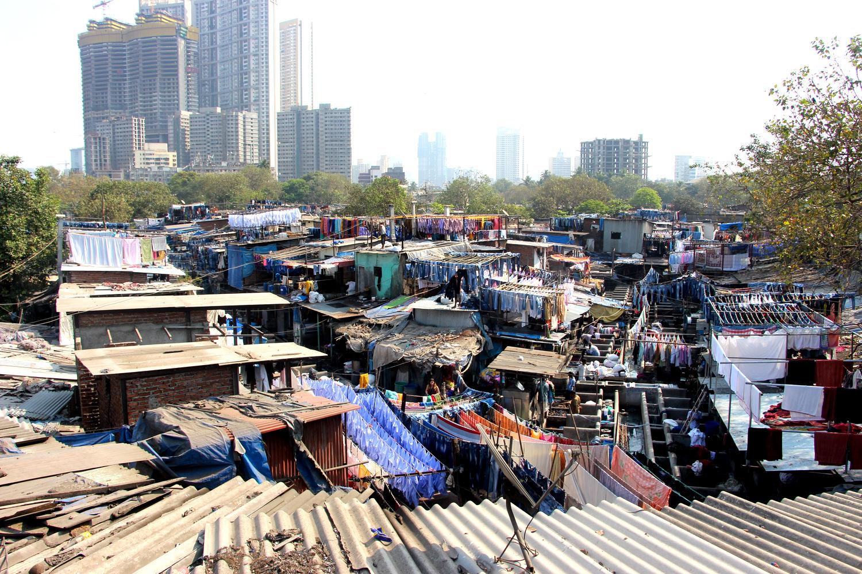 Dhobi Ghat slum Mumbai